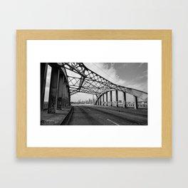 Sixth Street Viaduct Bridge - LA 02/30/2016 Framed Art Print