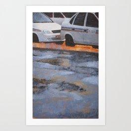 Depois da Chuva Art Print