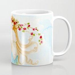 The Rose Mermaid Coffee Mug