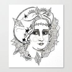 Christina of Sweden Canvas Print