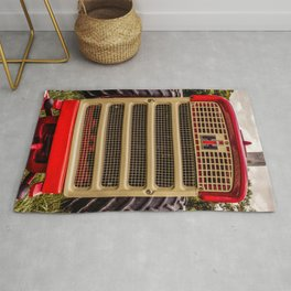 International Grill Farmall Tractor Front  Rug