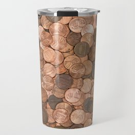 Pennies for your thoughts Travel Mug