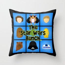 The Bunch Throw Pillow