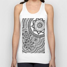 Too Many B&W Unisex Tank Top