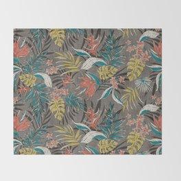 Bali Tropics - Cabana Throw Blanket