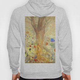 "Odilon Redon ""Buddha in His Youth"" Hoody"