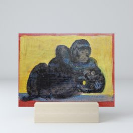 Gorillas Mini Art Print