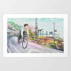 Bicycle Boy 04 Art Print