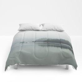 Fog - Landscape Photography Comforters