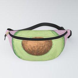 Pink Avocado Fanny Pack