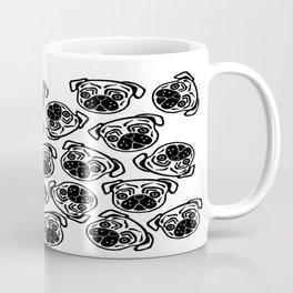 Pug Faces Coffee Mug