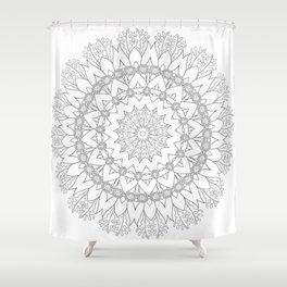 Florasphere ~ Flannel Flower Mornings Shower Curtain