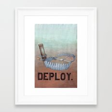 deploy Framed Art Print
