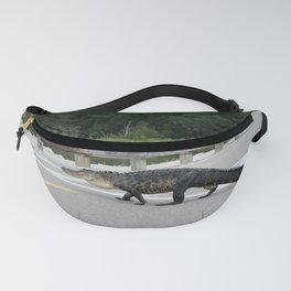 Alligator Right Of Way Fanny Pack