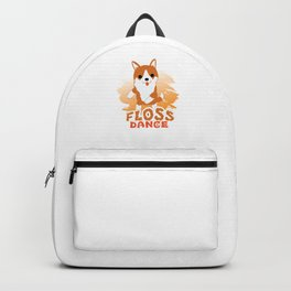 Floss Dance Move Corgi Backpack