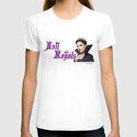 regina mills T-shirts featuring Evil Regal, Regina Mills by Your Friend Elle