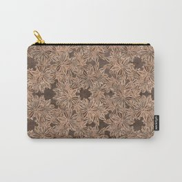 Star Anise Pattern Carry-All Pouch