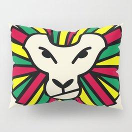 Lion Rastafari Pillow Sham