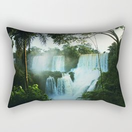 Wonderful Waterfall Rectangular Pillow