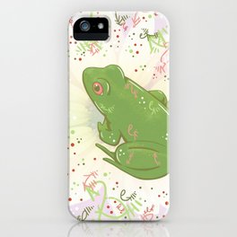 Little Frog iPhone Case