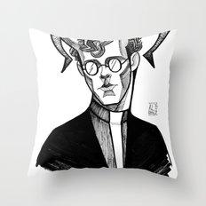 Ca Va Mal Throw Pillow