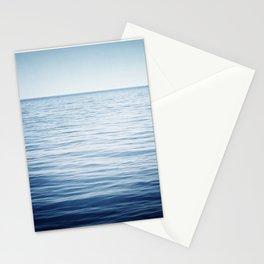 Blue Ocean Seascape, Dark Blue Sea Landscape Photography, Ocean Horizon Stationery Cards