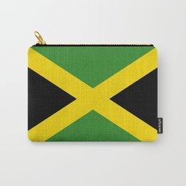 Flag of Jamaica-Jamaican,Bob Marley,Reggae,rastafari,weed,cannabis,ganja,america,south america,ragga Carry-All Pouch