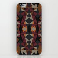 mirror iPhone & iPod Skins featuring Mirror by Leandro Pita