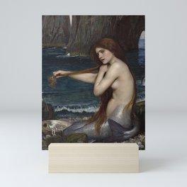 A MERMAID - WATERHOUSE Mini Art Print