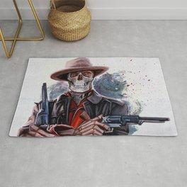 The Gunslinger - Dia De Los Muertos Rug