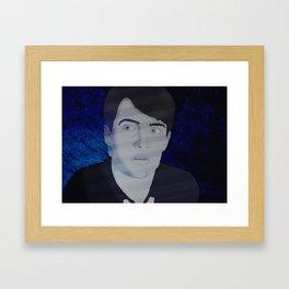 Blue Velvet I Framed Art Print
