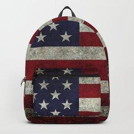 USA flag - in Super Grunge Backpack