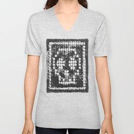 Crochet Impressions: SKULL Unisex V-Neck
