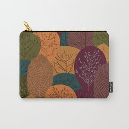 Autumn forest seamless pattern Carry-All Pouch