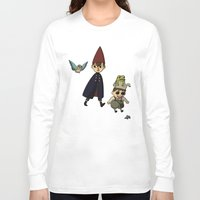 over the garden wall Long Sleeve T-shirts featuring Over the Garden Wall by Kallian