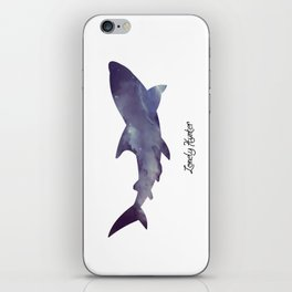 Lonely Hunter iPhone Skin