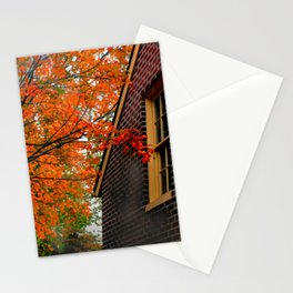 Autumn at the Window Stationery Cards