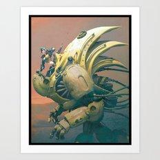 Robotica Art Print