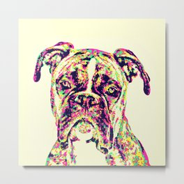 The Mighty Boxer Metal Print