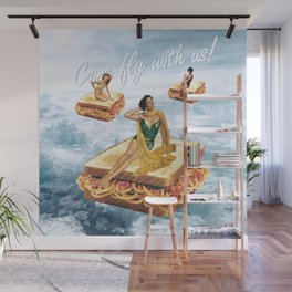 Sandwich Airlines - Come fly with us! Wall Mural
