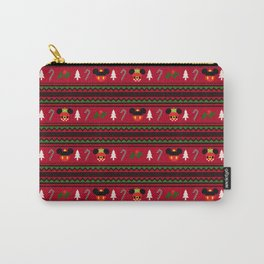 Christmas Sweater Pattern Carry-All Pouch