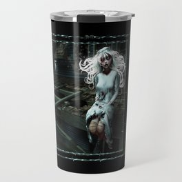 """""""Lacey Malice"""" by MiaSnow and Trin Travel Mug"""