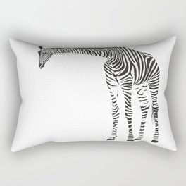 Giraffe alias camouflage Rectangular Pillow
