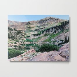 Cecret Lake Metal Print
