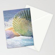 Subtle Sea Splash Stationery Cards