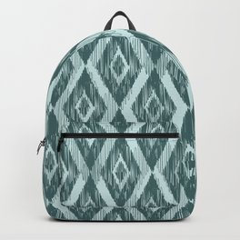 Pine and Mint Ikat Backpack