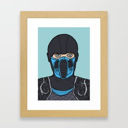 The Cold Fist Framed Art Print