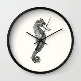 Happy Hippocampus Wall Clock