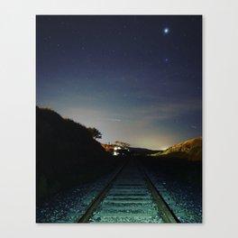 Straight On 'Till Morning Canvas Print