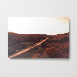 One way from now Metal Print